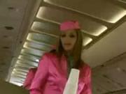 Airplane Sexy Stewardess