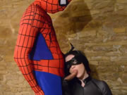 Spiderman Fucked Busty Catwoman
