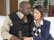 Blacked Real Model August Ames Loves Black Cock