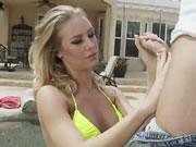 Stunning Bikini Clad Bombshell Nicole Aniston