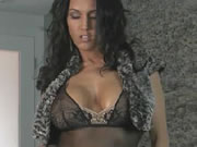 Stunning Brunette With Perfect Tits Plays With Her Wet Pussy