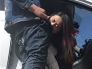 Chinese Girl Public Blow And Fuck In Car