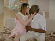 First Interracial For Petite Teen Kristen Scott
