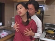 Ran Asakawa Fucked In The Kitchen