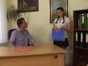 Avukat Ofisinde Sekreterini Gotten Sikiyor
