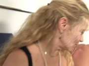 German Mature Gets Fucked Hard In Threesome