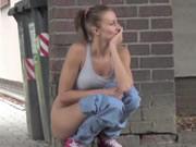 Babes Public Pissing Compilation 4