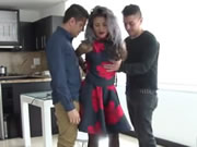 Hot Revenge MMF Threesome With Fiery Latina