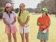 AV女優のゴルフトーナメントの後 罰